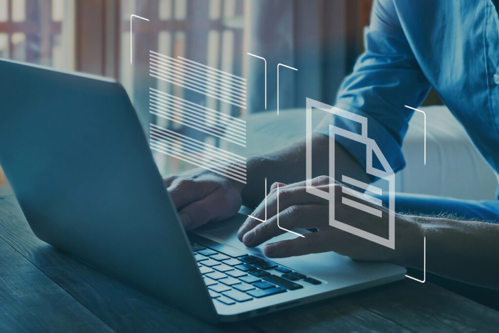 paperless document management in banking